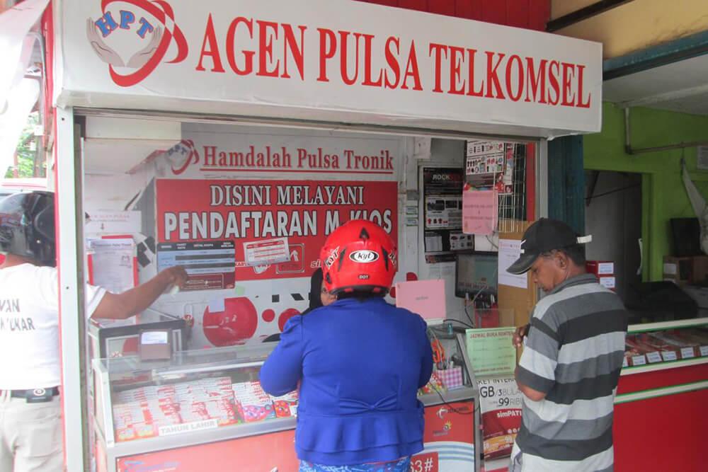 Bisnis pulsa dan kuota internet