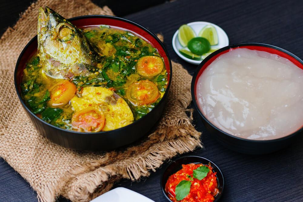 Makanan Khas Maluku Populer, Papeda