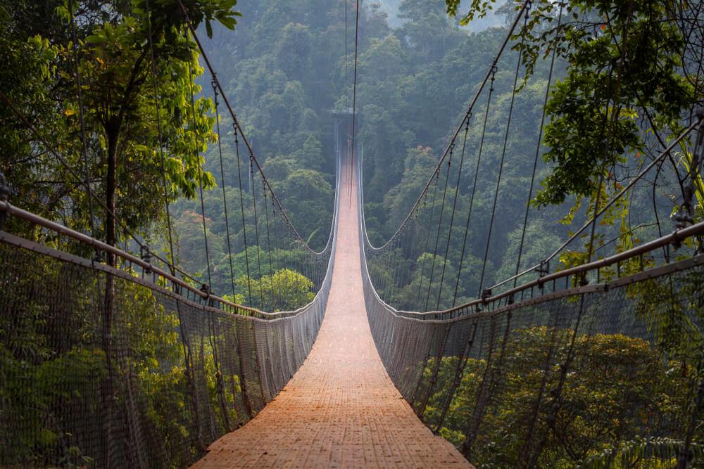 Wisata Sukabumi, Jembatan Gantung