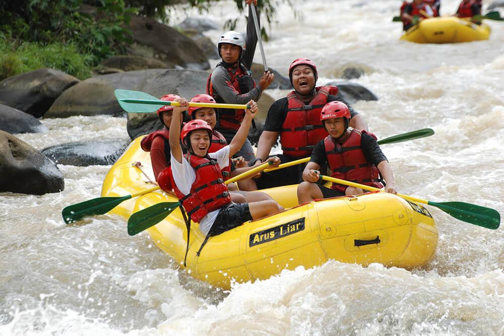 Rafting Citarik Sukabumi